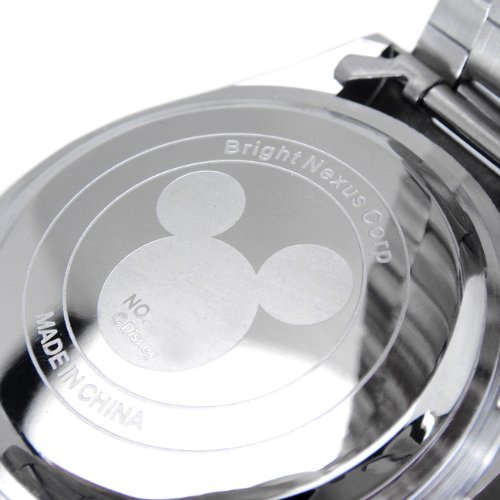 『Disney ディズニー ミッキー 生誕80周年記念 回転 ベゼル 腕時計 ピンク スワロフスキー 世界限定数生産 銀 [時計] [並行輸入品]』の3枚目の画像