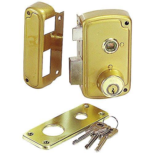 Caja por la puerta del gabinete de metal de punto /único de seguridad cerradura de la leva 1PCS