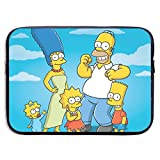 Anime Cartoon Simpsons Laptop Sleeve Bag 13 Inch Tablet Briefcase Ultra Portable Protective, Laptop Canvas Cover MacBook Air, MacBook Pro, Notebook Computer Sleeve Case