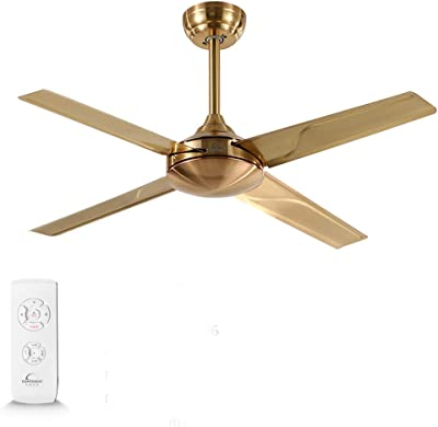 Jack Mall Ventilateur de plafond léger scandinave Fan Light