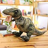 LFSLAS Creative Simulation CushionGigantspinosaurus Triceratops Rex Stegosaurus Seismosaurus Dinosaur Plush Doll Dino Plush Toy Kids Collection M Tyrannosaurus Rex