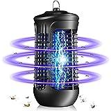 QUARED Zanzariera Elettrica, UV Lampada Antizanzare Elettrica Contro zanzare, Mosche, tarme, Prodotti chimici atossici per camere da Letto Interne, soggiorni, Cortili, cucine