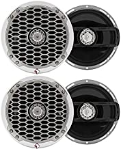 "$455 » (2 Pair) Rockford Fosgate PM2652 Punch Marine 6.5"" Full Range Speakers"