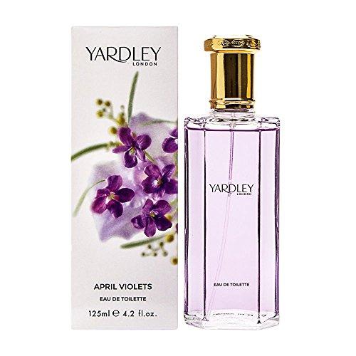 Yardley Londres, abril Violetas, Eau de Toilette Mujeres, 125 ml