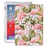 lingtai Étui iPad flamanto pour AIR 2 4 11.5 Pouces Pro 2020 avec Porte-Stylo 10.5 8ème...