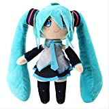 TOPCOMWW 30cm Anime Hatsune Miku Plush Toy Hatsune Miku Soft Stuffed Doll Gift for Kids