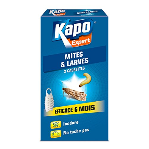KAPO Cassettes mites et larves...