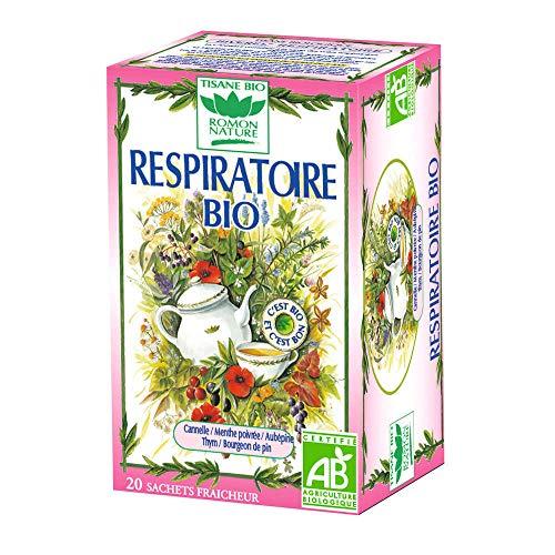 Romon Nature Tisane Respiratoire BIO - 20 sachets