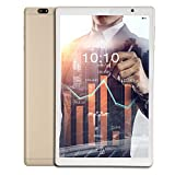 iBall iTAB BizniZ Tablet (10.1 inch, 32GB, Wi-Fi + 4G LTE + Voice Calling | Expandable Memory Up to 256GB), Champagne Gold