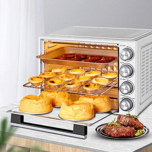 Hogar y cocina Horno Sobremesa Horno eléctrico, 40L de gran capacidad del...