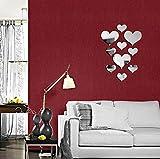N-brand Pulabo - Adhesivo decorativo para pared (acrílico, 10...