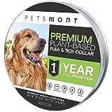Best Tick Collars - Petsmont Flea Collar for Dogs, Tick Collar Review