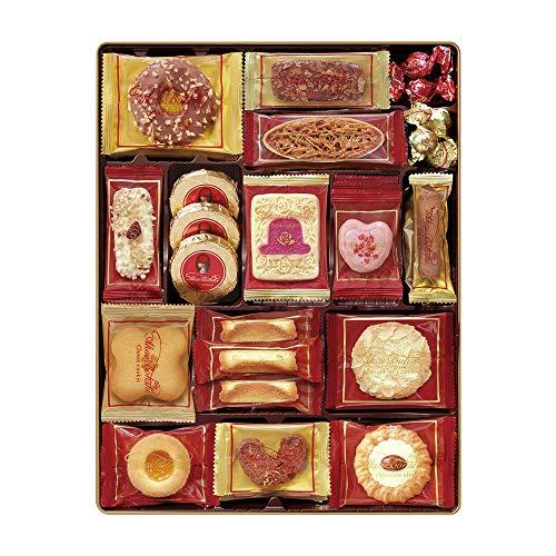 チボリーナ お菓子ギフト 赤い帽子 レッドボックス 缶入りクッキー詰め合わせ