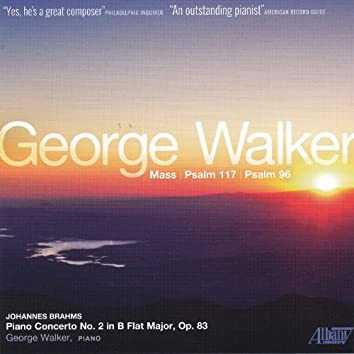 Walker: Mass - Brahms: Concerto for Piano, No. 2