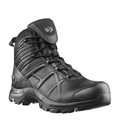Haix Black Eagle Safety 50 mid Funktionelle Einsatzstiefel: Sicherheit für Polizei, Militär und Workwear. 44