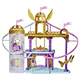 My Little Pony: A New Generation - Castillo Real - Castillo de 55,5 cm con 2 tirolinas - Figura de la Princesa Petals
