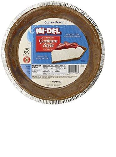 Mi-Del Gluten Free Pie Crust, Graham Style, 7.1 Ounce Package
