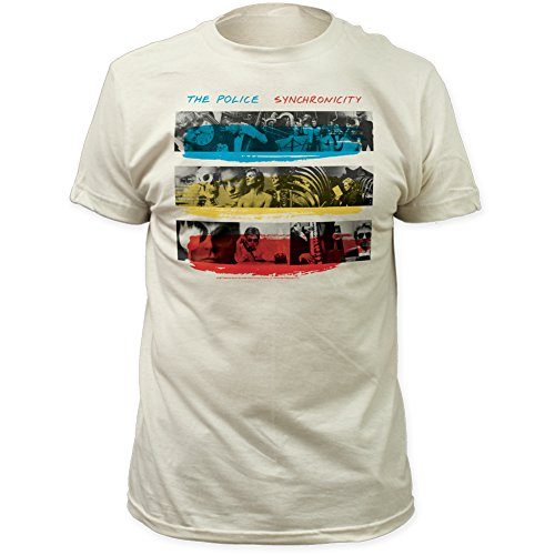 Impact Police Synchronicity Fitted Jersey tee Vintage-White Medium