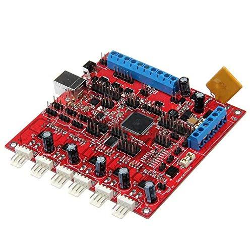 QOHFLD Accesorios de Impresora Placa Base del Controlador de la Impresora Board1.2G Reprap 3D Compatible con Piezas de Impresora Arduino 3D