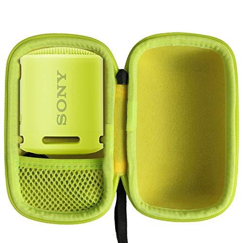 Khanka Estuche de viaje duro de repuesto para Sony SRS-XB13 Altavoz Bluetooth impermeable portátil compacto (amarillo)