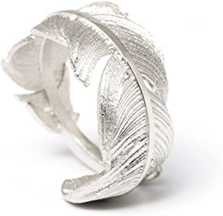 adjustable plume feather ring