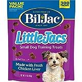 Bil-Jac 2 Pack of Little-Jacs, 10 Ounces each, Small Dog Training Treats