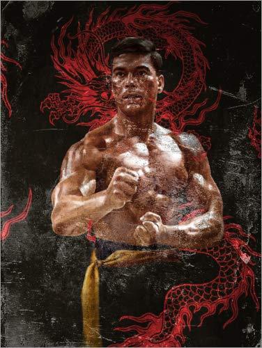 Poster 70 x 90 cm: Bloodsport von Dmitry Belov - hochwertiger Kunstdruck, neues Kunstposter