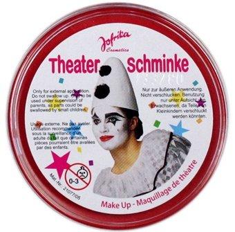 NET TOYS Maquillage de Carnaval Rouge - Make Up - Maquillage de théâtre - Make up Rouge - maquillages de Carnaval