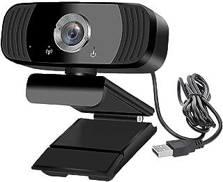 كاميرا ويب B3 1080 بيكسل USB عالية الدقة FHD بميكروفون مدمج للكمبيوتر واللاب توب - 30 اطار في الثانية - 1920x1080