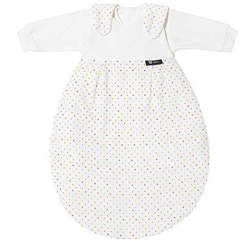Alvi Baby Mäxchen Schlafsack 3-tlg. Das Original Gr. 86/92 Bunte Tupfen