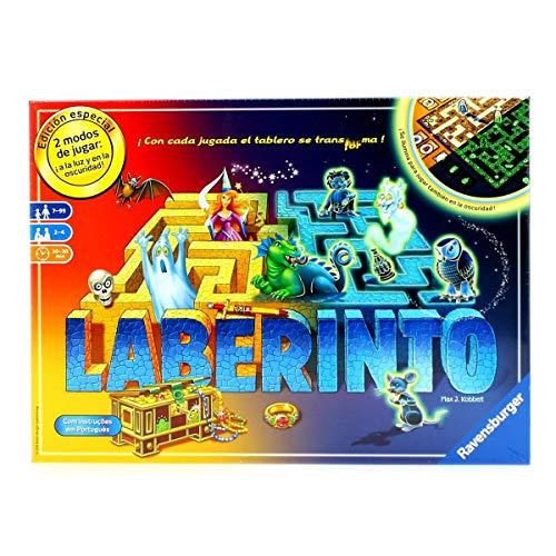 Ravensburger Laberinto Magico Glow in The Dark Jeu de Table 2-4 Joueurs Âge recommandé 7+ (26692)