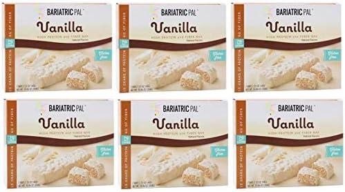 BariatricPal sale Divine 15g Protein Fiber Vanilla Max 53% OFF 6-Pack Bars -