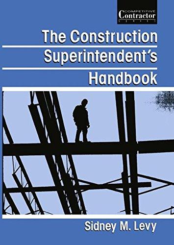 Download The Construction Superintendent's Handbook 1468484966