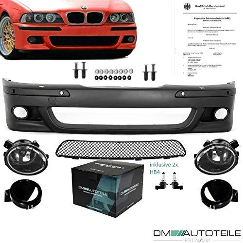 DM Autoteile SPORT Stoßstange PAKET vorne ABS SRA/PDC passt für E39 +Nebel für M+Nieten