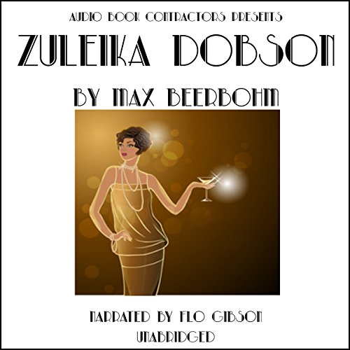 Zuleika Dobson audiobook cover art