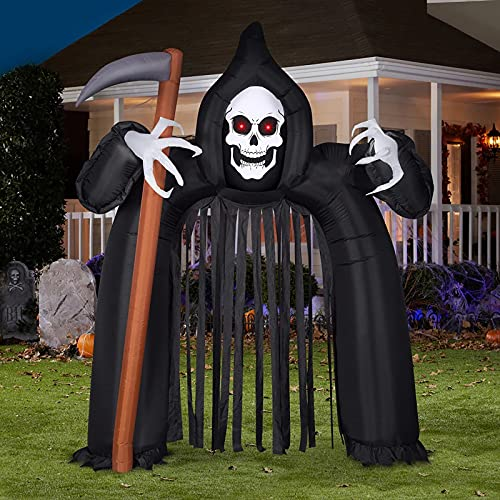 10,26 Ft Halloween Aufblasbar, EBANKU Halloween Deko Aufblasbarer Bogen Halloween Blow Up Outdoor Party Decor für Yard Garden