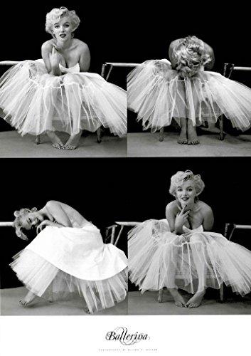 Marilyn Monroe - Ballerina Foto-Serie Poster (91 x 61cm)
