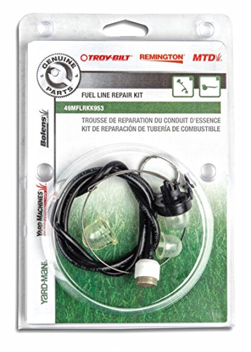 Mejor Podoy Tygon Fuel Line for Compatible with Poulan Weedeater Chainsaw Parts Repower Fuel Line Kit 4 Sizes with Snap in Primer Bulb Zf-1 Fuel Filter Craftman String Trimmer Blower Common 2 Cycle Small crítica 2020