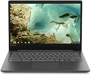 联想 Chromebook S330 14 英寸高清显示屏,MediaTek 64 位 CPU,4GB 内存,32GB eMMC,镀铬操作系统,黑色