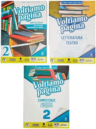 Voltiamo pagina. Con Letteratura e Competenze. Per la Scuola media. Con ebook. Con espansione online (Vol. 2)