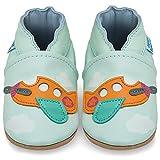 Zapatillas Bebe Niño - Zapato Bebe Niño - Zapatos Bebes - Calzados Bebe Niño - Avión - 6-12 Meses