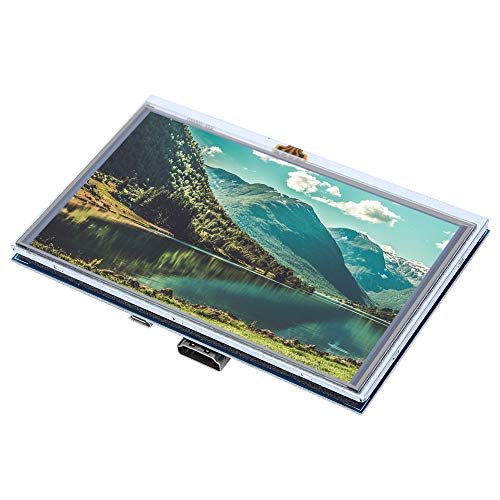 Multifunctional Use HDMI Display, Screen for Raspberry Pi, for Play Computer Games Computer Screen