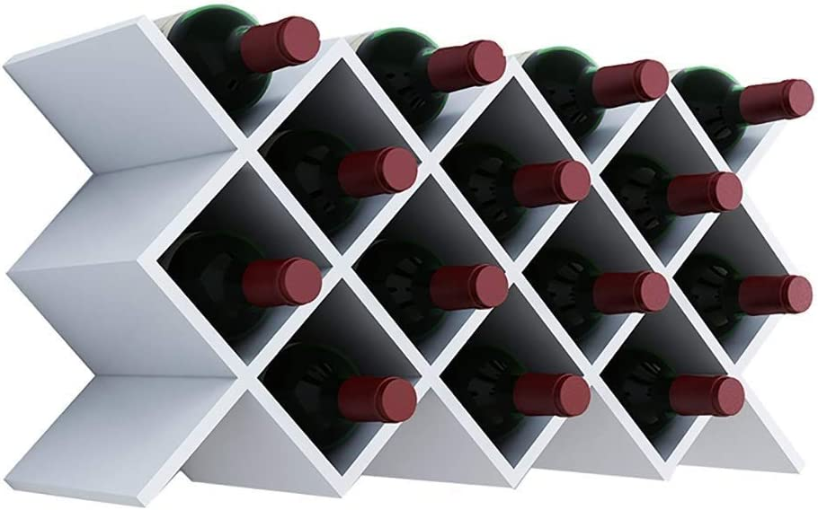 Wine Bottles Rack Wall-Mounted Wooden Liner Shelf Recommended Wi Holder Oklahoma City Mall
