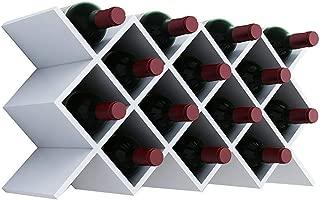 Wine Bottles Rack Wall-Mounted Wooden Wine Holder Shelf Liner Wine Cabinet Shelf Insert Display Rack Wine Rack Lattice Can Hold Multiple Bottle Storage Racks Kitchen