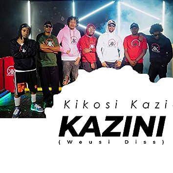 Kikosi Kazi Kazini Weusi Diss (Clean Version)