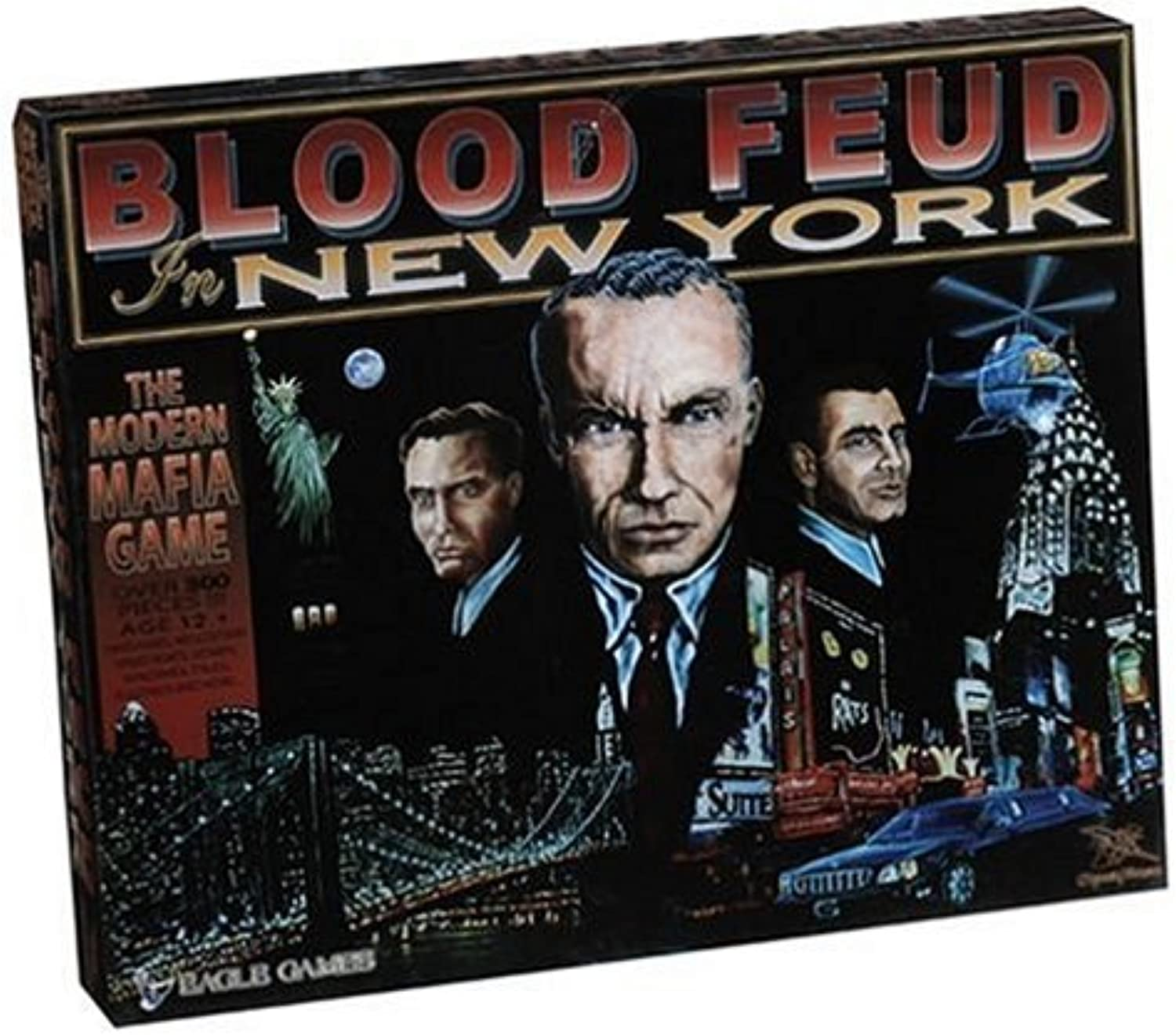Vintage Sports Cards Blood Feud In New York Board Game