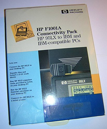 HP F1001A Connectivity Pack for HP 95LX to IBM and IBM-Compatible PCs