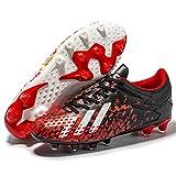 MCZFNF Chaussures de Football Homme, Enfant Homme Foot Entrainement Chaussures de Sport Adolescents Chaussures de Foot en Plein Air Unsisexe