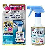 【セット販売】トップ ハイジア 除菌・消臭スプレー 本体 350ml&詰め替え 320ml (1)
