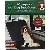 Crufts mascota perro resistente al agua/delantera/trasera para coche solo funda de asiento Protector Mat Manta